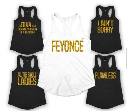 5583d34755d6e custom text Feyonce wedding Bride Bridesmaid tees tank tops singlets  Bachelorette t shirts gift bridal party