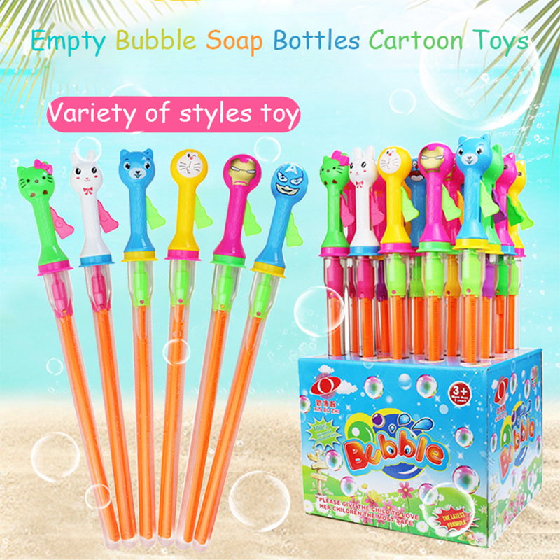 Empty Bubble Soap Bottles Toys Wedding Birthday Party Decoration Bubbles Maker Kids Outdoor Fun Water Blowing Toy For Children
