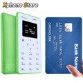 Inew mini 1 0.96 pulgadas micro sim sola tarjeta de teléfono móvil de la ayuda gsm teclado bluetooth tarjeta mini teléfono de buena calidad
