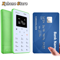 iNew Mini 1 0.96 inch Single Micro SIM Keyboard Card Mobile Phone Support GSM Bluetooth Good Quality Card Mini Phone