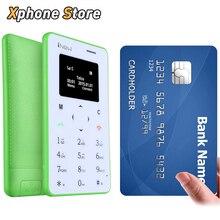 Iprogrammes Mini 1 0.96 pouce Unique Micro SIM Clavier Carte Mobile Support Téléphonique GSM Bluetooth Bonne Qualité Carte Mini Téléphone