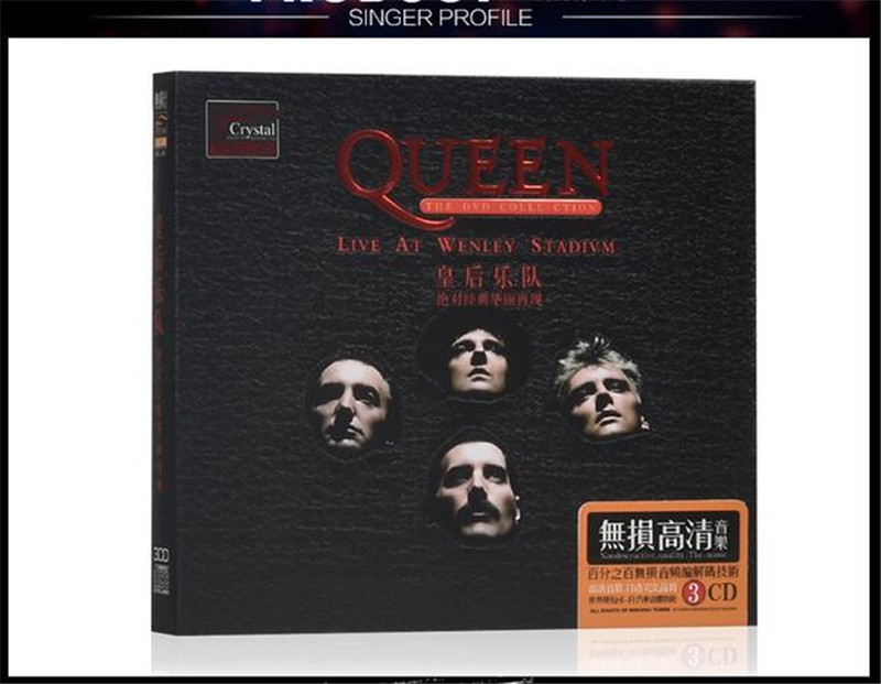 Seal Queen Europe and retro rock songs in English Free shipping Car Music CD
