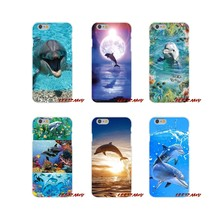 dolphins in the reef sunset ocean Accessories Phone Shell Covers For Samsung Galaxy A3 A5 A7 J1 J2 J3 J5 J7 2015 2016 2017(China)