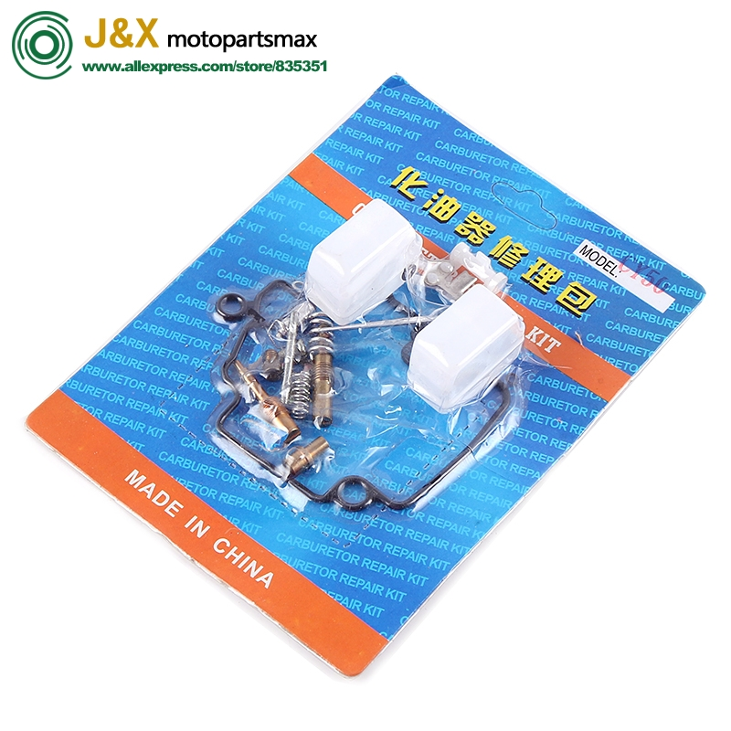 Free Shiping motorcycle <font><b>carburetor</b></font> repair kit GY650 <font><b>GY6</b></font> 50 <font><b>50cc</b></font> 50 complete repair rebuild kit tool with jet gasket needle carbs image