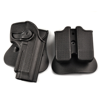 Beretta 92 96 M9 Tactical Waist Suit Holster 360 Degrees Airsoft Hunting Right Hand Belt Pistol