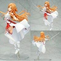 Anime Sword Art Online SAO Yuuki Asuna PVC Action Figure Collection Model Toys Doll Brinquedos 23cm