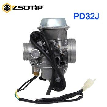 Carburador de motocicleta ZSDTRP PD32J KLF300 Bayou 300 para motor de 250cc-450cc para Kawasaki ATV Honda TRX 400 Foreman