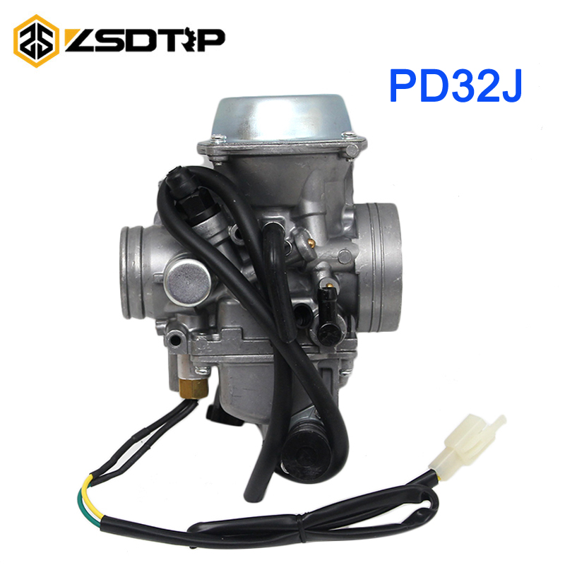 ZSDTRP PD32J KLF300 Bayou 300 Motorcycle Carburetor Carb for 250cc-450cc motor for Kawasaki ATV Honda TRX 400 Foreman trx 500 foreman carburetor carb 2005 2011 brand new highest quality