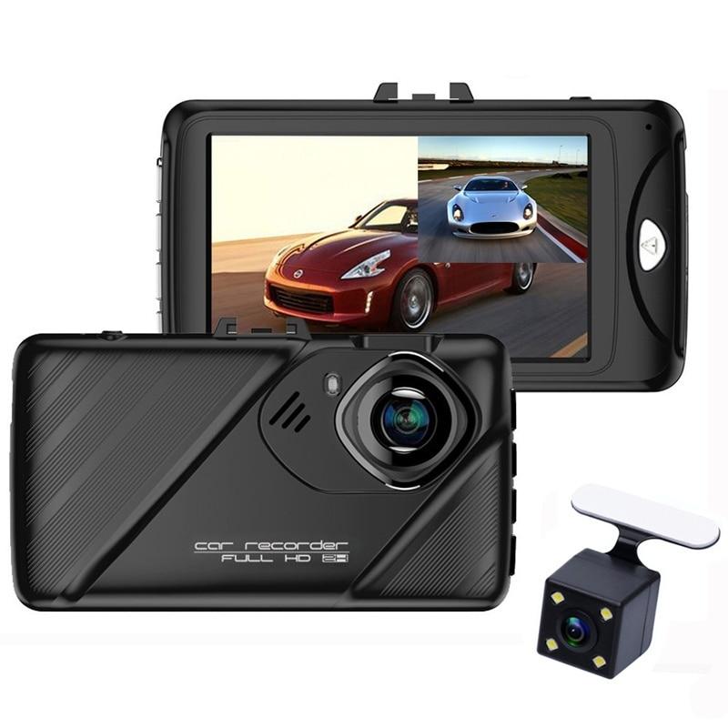Dash Camera 3 Inch Dashcam 96658 Video Recorder HDR G-sensor Night Vision Registrator Car DVRs Dual Lens Dash Cam