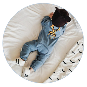 Fashion Denim Baby Romper Suit 1
