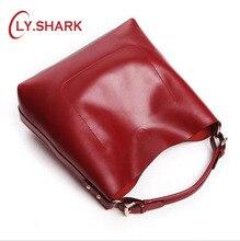 LY. SHARK ผู้หญิงกระเป๋า Luxury กระเป๋าถือผู้หญิงกระเป๋าออกแบบผู้ซื้อกระเป๋าสีฟ้าสุภาพสตรีขนาดใหญ่ Crossbody ไหล่กระเป๋าชุด