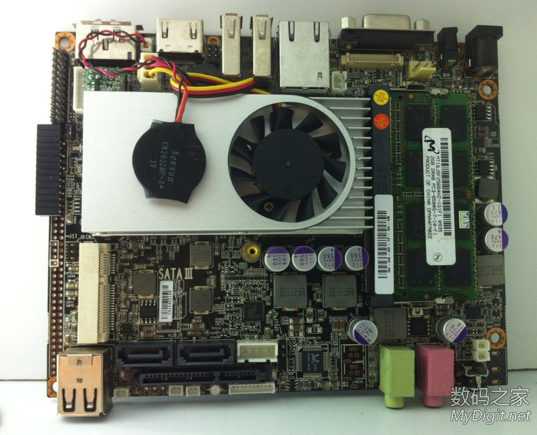 Used,3.5 Motherboard Non-ITX Motherboard 4 SATA3 Port 1000 M Network Card With HDMI Output ,100% Tested Good
