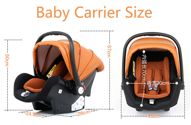 luxury baby stroller 3 in 1 (13)