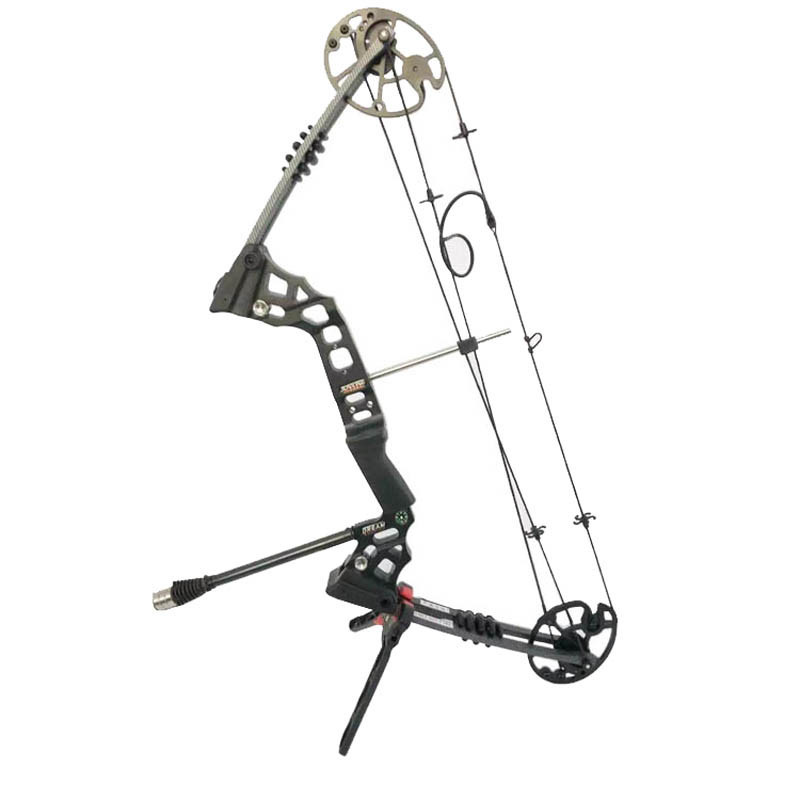 Archery Bow Kick Stand Holder Scissor for Compound Bow Target Hunting Bow Rack