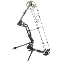 Compound Bow Stand Holder Bow Kick Stand Holder Archery Hunting Lightweight Racks  for Compound Bow Target Hunting Bow Rack