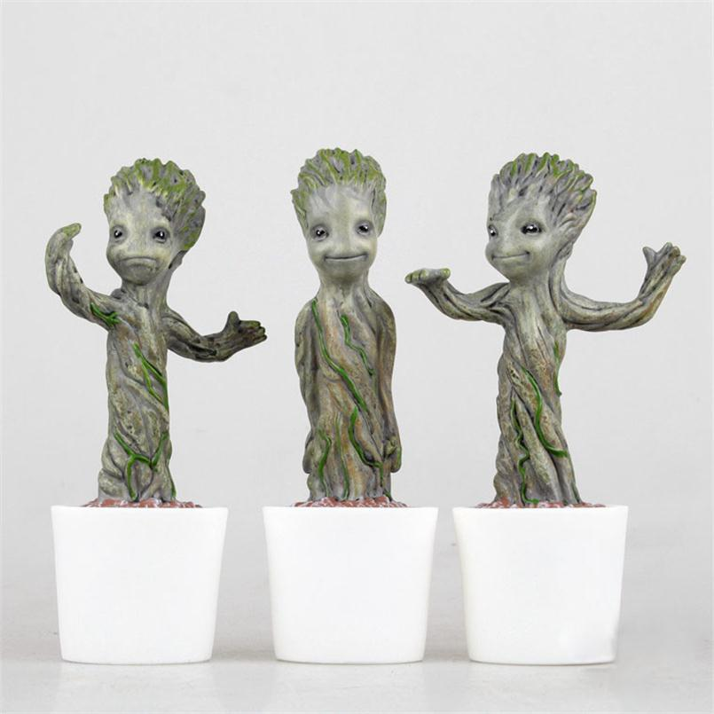 Hot Sale Toys American Anime Figure PVC Toys Guardians Galaxy 18CM Gift for children