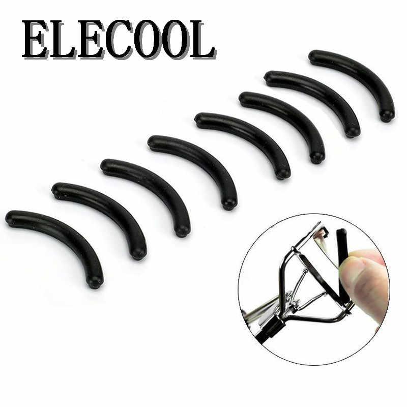 ELECOOL 10Pcs Ciglia Nere Delle Donne di Trucco Del Bigodino del Ciglio Pads di Ricambio Ciglia di Curling Accessori In Silicone pads Strumento