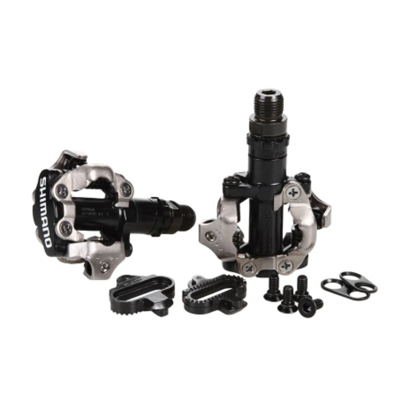 Shimano-PD-M520-SPD-Pedal-MTB-Mountain-Bike-Self-Locking-Clipless-Pedals-WITH-Cleats-PD22
