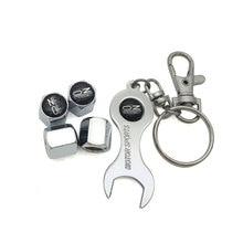Автомобильный колпачки вентиля шин с стерлингового серебра для OZ Racing значок автомобиля брелок с эмблемой и колпачки вентиля шины комплект стайлинга автомобилей(4 шт/уп
