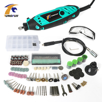 Tungfull Mini Drill Engraver Rated Voltage 220v Power Tool Engraver Electric Machine Dremel Style Mini Drills