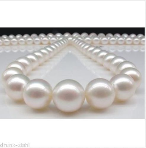 FREE SHIPPING>>@@@ CLASSIC10-11mm south sea round white pearl necklace 17inch 14KCLASP^^^@^Noble style Natural Fine jewe >FREE SHIPPING>>@@@ CLASSIC10-11mm south sea round white pearl necklace 17inch 14KCLASP^^^@^Noble style Natural Fine jewe >