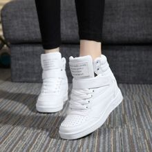 Верх ботильоны каблуки высота смешанные увеличение высокий сапоги зимние обуви весна