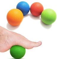 DXFM70831624BU1pc Massager Lacrosse Ball Massage Ball Mobility Myofascial Trigger Point Body Pain Release SE01