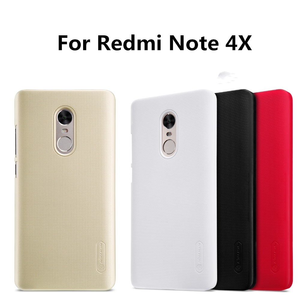 Nillkin Frosted Shield Phone Bag Case For xiaomi redmi note 4x Phone Cases Back Cover PC Matte Top Case for redmi note 4x