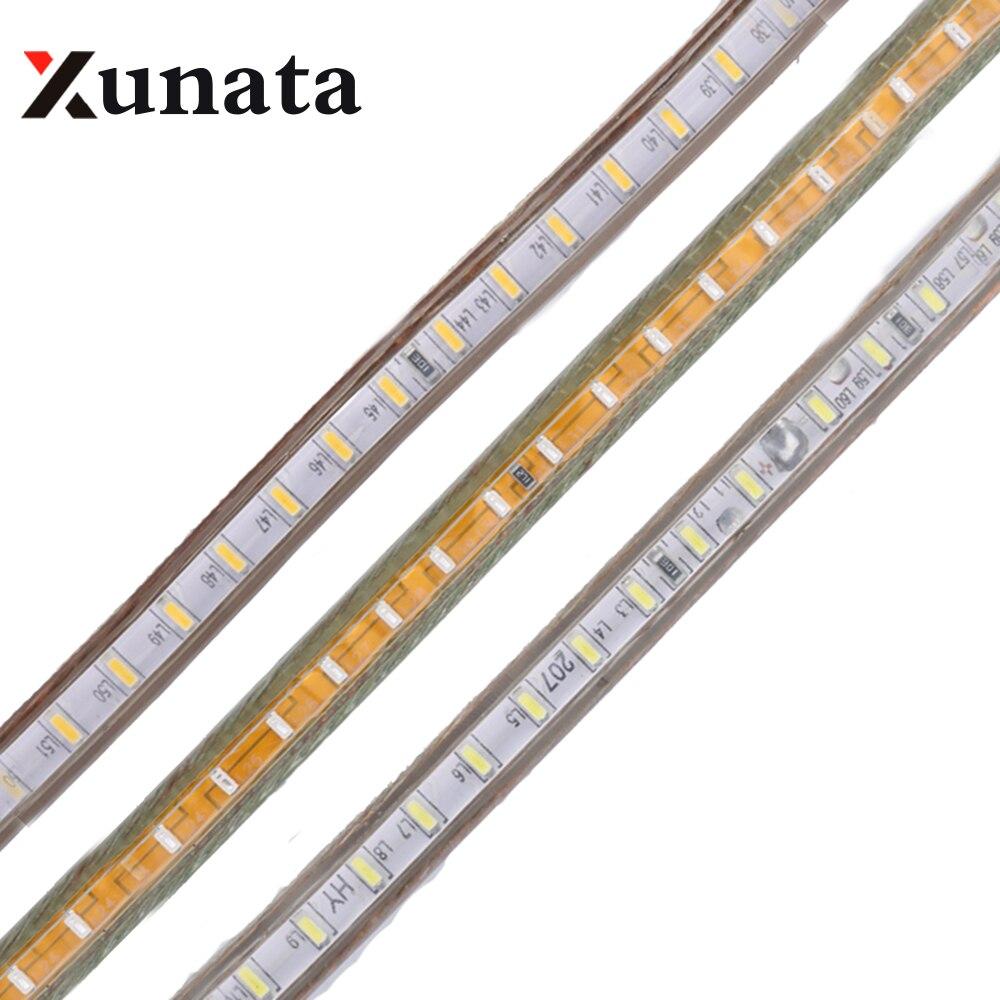 led strip 220v 3014 smd 120leds m waterproof flexible tape. Black Bedroom Furniture Sets. Home Design Ideas