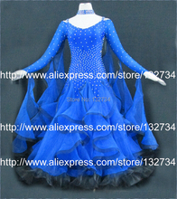 Elegant Modern Waltz Tango Ballroom Dance Dress,Smooth Ballroom Dress Fashion Girls Ballroom Dancewear B-0067