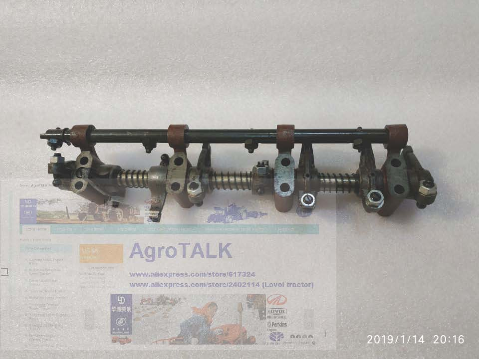 Rocker Assembly As Picture Showed For Yangdong 7YNDL2.04NWN  Y485 Engine, Part Number: