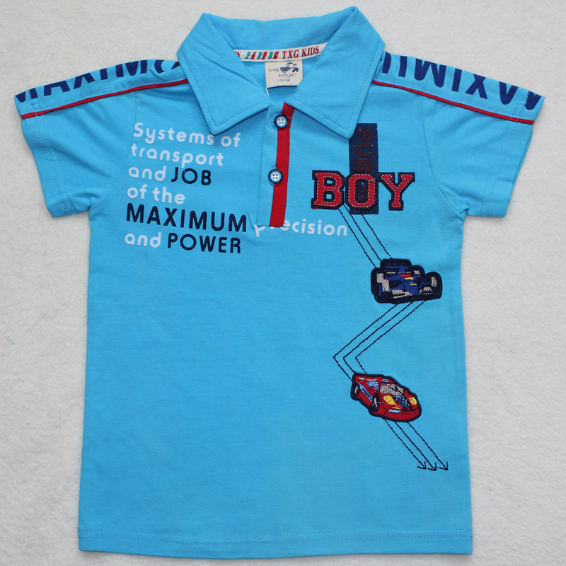 43cc0296b Free shipping!2013new design boys t shirt children clothing 100%cotton kids  short sleeve wear,3colour+5pcs/lot-in T-Shirts from Mother & Kids on ...