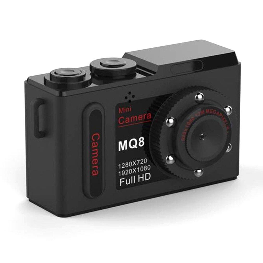 MQ8 Digital Camera HD 1080P Mini Video Camera Infrared Night Vision Camara Profesional Portable Camera DVR Digital Video Camaras