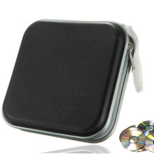 40 дисков водонепроницаемый мешок портативный CD Органайзер dvd-дисков кошелек Чехол пластиковый портативный CD рукав жесткий мешок альбом коробка на молнии