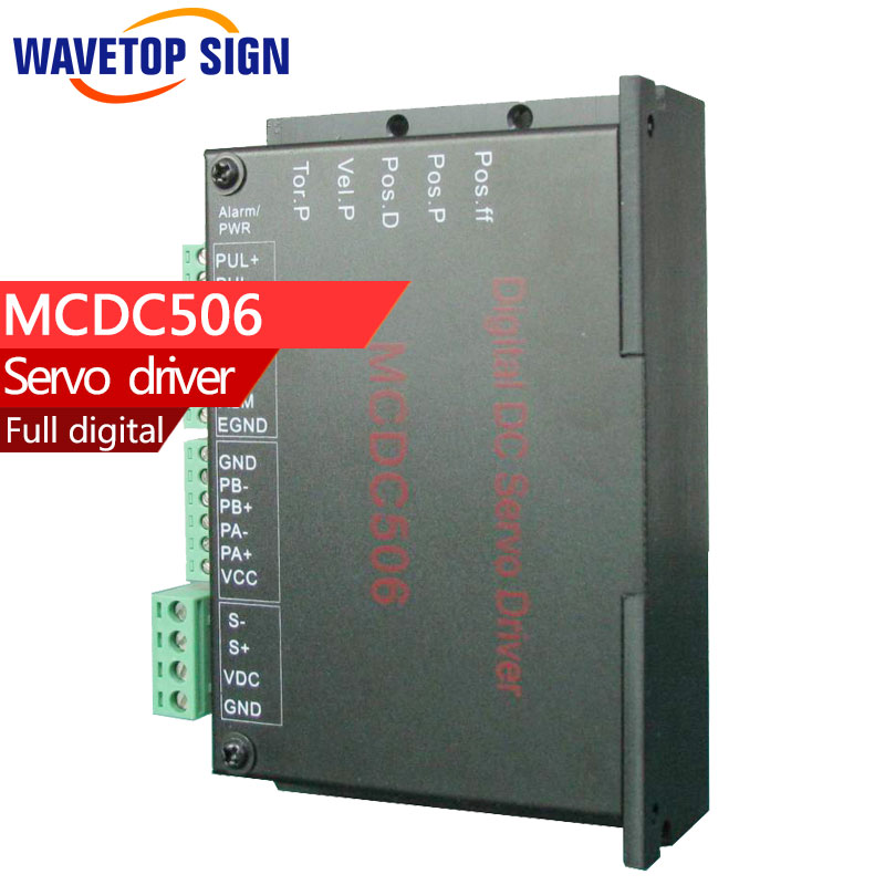 JMC Full digital dc servo drive MCDC506 voltage from dc 24v-48v current 5A dcs810 leadshine digital dc brush servo drive servo amplifier servo motor controller up to 80vdc 20a new original