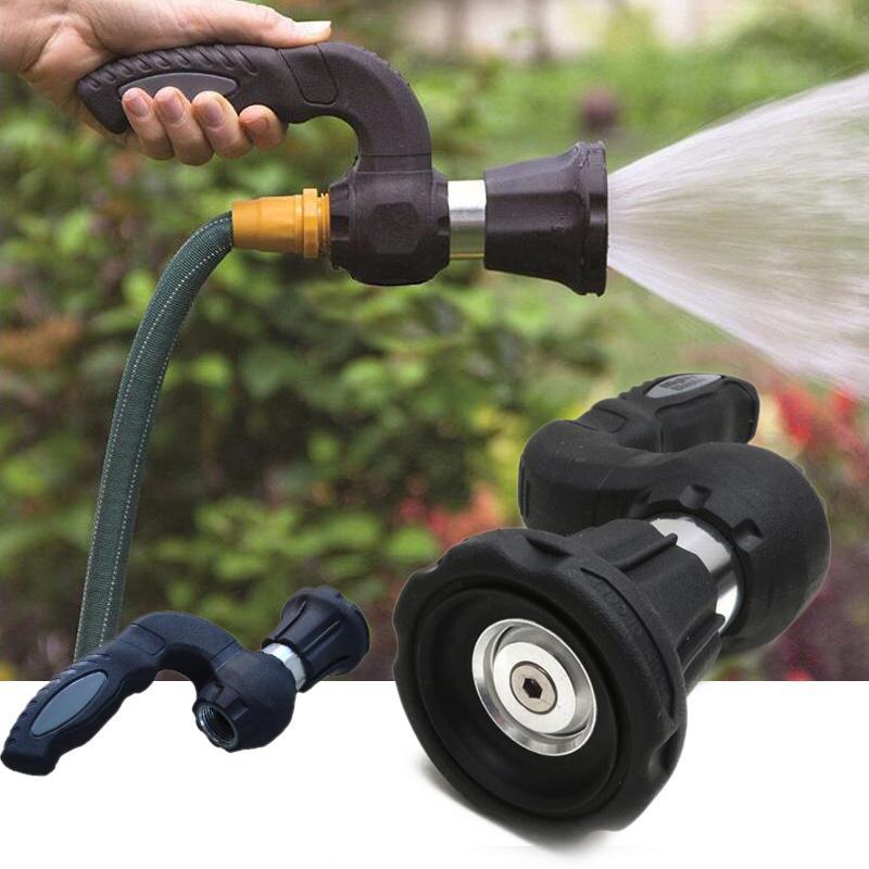 Mighty Blaster Garden Water Gun Sprinkler Spray Nozzle Car Washer Garden Farm Hose Watering Plant Water Jet Irrigation System