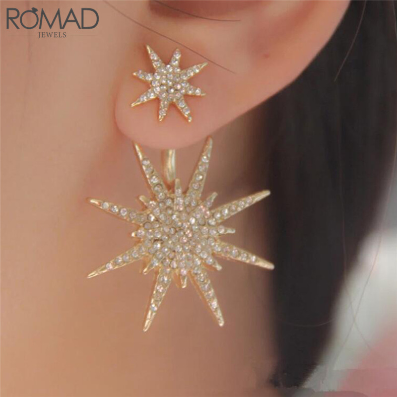 Amicable Gs 2018 New Fashion Simple Little Star Earrings, Fine Jewelry Pentacle Earrings For Women Boucles D'oreilles Pour Les Femmes R4