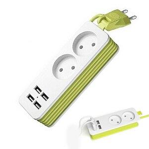 EU Plug Power Strip 2 AC Plug
