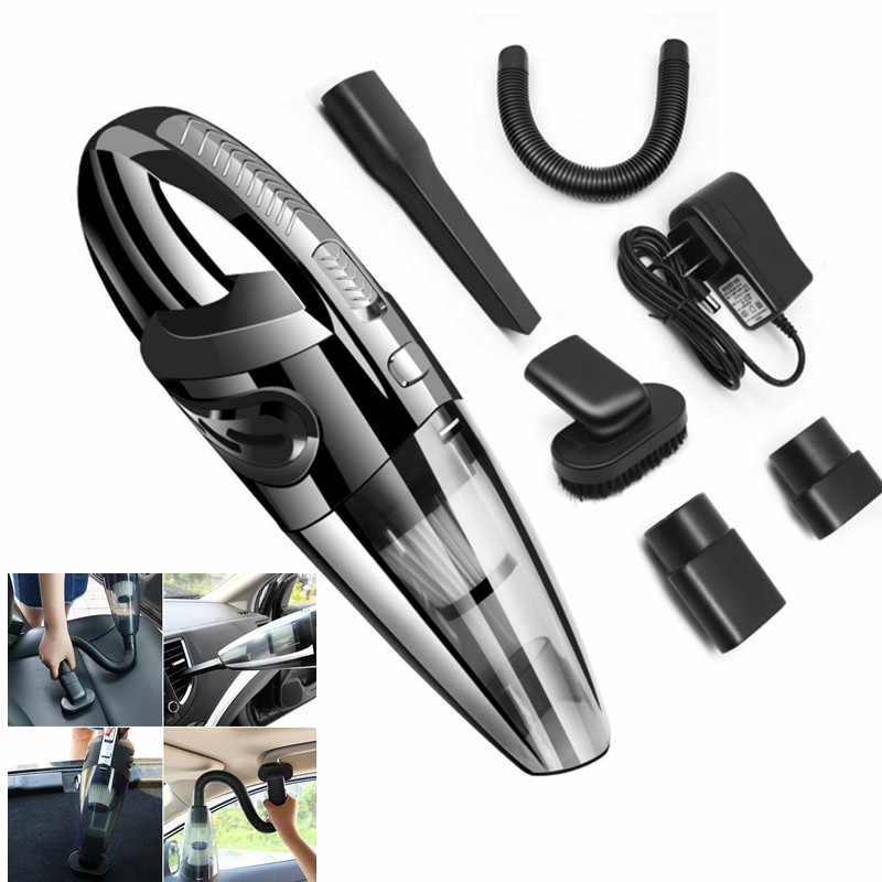 Upgraded Version Car Vacuum Cleaner Wireless Car Dry and Wet Vacuum Cleaner Household Hand-held Vacuum Cleaner Dropship