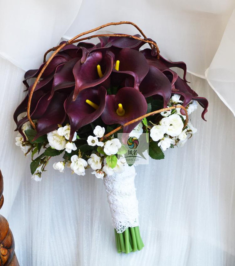 Handmade Wedding Bouquet Wedding Flower Bridal Bridesmaid Bouquets