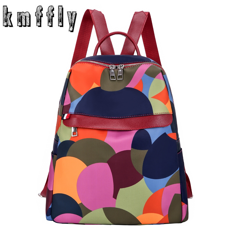 Mochilas Mujer 2019 New 3Color Oxford Waterproof Student Bag Travel Casual Backpack Women Outdoor Bag Mochila Feminina Sac a DosMochilas Mujer 2019 New 3Color Oxford Waterproof Student Bag Travel Casual Backpack Women Outdoor Bag Mochila Feminina Sac a Dos