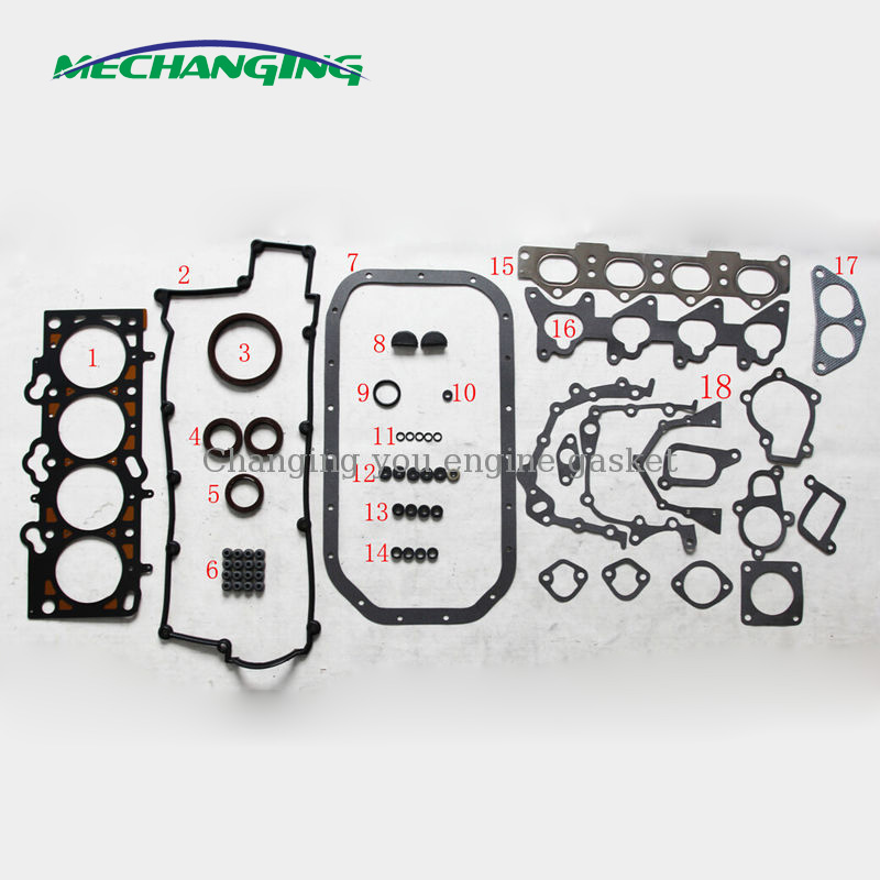 OCPTY Head Gasket Set w Bolts Kit for Hyundai Tiburon Sonata Kia Optima 2.7L 04-09 Gaskets Kit Set