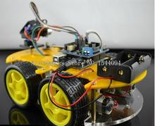 UNO Robot Car Kit Bluetooth Chassis anzug Tracking Kompatibel UNO R3 DIY Elektronische RC roboter