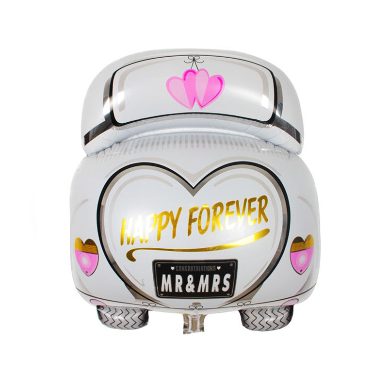 VIPOINT PARTY 63x50cm love heart crown car foil balloons wedding event christmas halloween festival birthday party HY 24 in Ballons Accessories from Home Garden