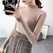 Turtleneck Sweaters Women AQ01