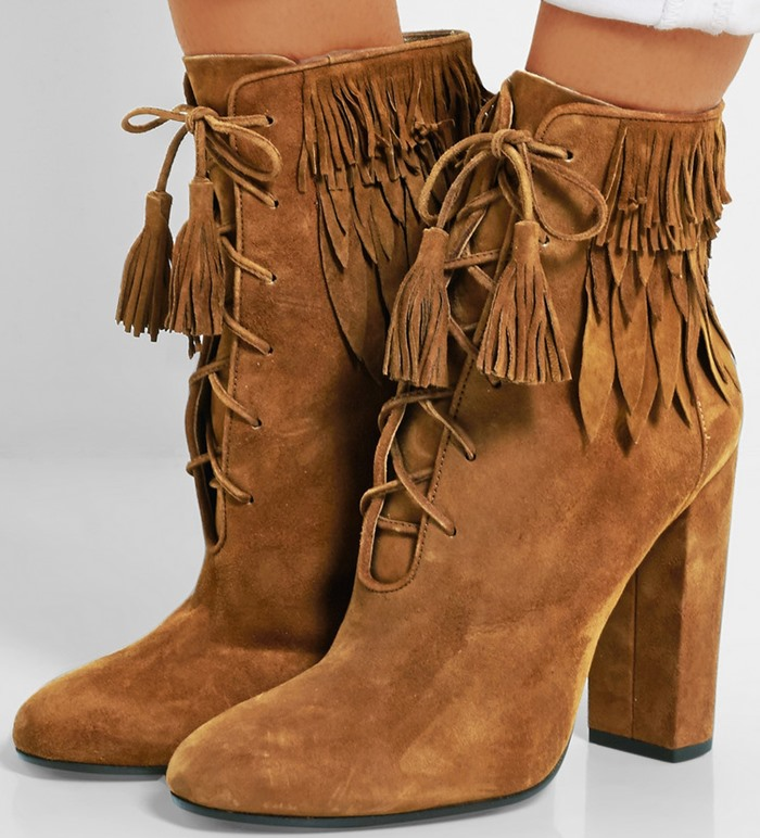 Popular Fringe Suede Ankle Boots-Buy Cheap Fringe Suede Ankle ...