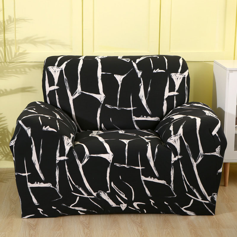 Sofa Cover Cotton Slipcover Elastic Couch Cover Sofa Covers for Living Room Fit L-shape Corner Sectional Sofa (need order 2PCS)