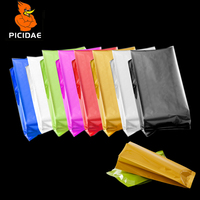 Color Pure Aluminum Foil Vacuum Organ bag Preservation Open Packing Fresh Store Food Snack Meat Candy Powder Nut Coffee Milk Tea|Storage Bags|Home & Garden -