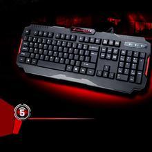Good Sale K2 USB Wired Multimedia PC Gaming ergonomic Mechanical Keyboard Sep 29