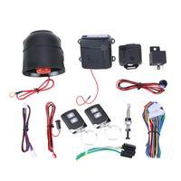 VODOOL Car Alarm Systems Auto Kit Burglar Alarm Protection Door Lock Keyless Entry Central Locking Vehicle